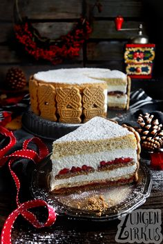 Winter Torte, Delicious Desserts, Yummy Food, Just Cakes, No Bake Cake, Vanilla Cake, Food Inspiration, Baked Goods, Sweet Recipes