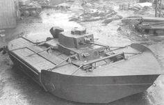 1940 Operation Seelöwe - Tank amphibie P38 spécialement conçu pour l'opération. Panzer 38(t) Ausf. A mit Schwimmkörper Amphibious Vehicle