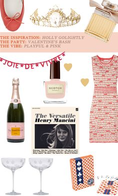 The ULTIMATE hostess (and party-goer, really): Holly Golightly