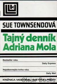 Townsendová, Sue: Tajný denník Adriana Mola, 1990 :: antikvariát a kníhkupectvo Olejar Books