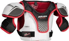 Bauer Vapor Lil Rookie Youth Hockey Shoulder Pads 2010