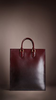 Burberry Prorsum Autumn/Winter 2013 Show - Leather Degrade Tote Bag