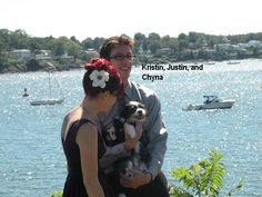The Bride and Groom (and Chyna)