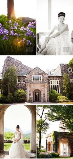 Beautiful mansion for a wedding