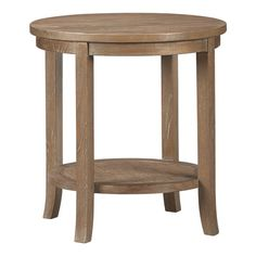 """love the grey wash on this """"Blake"""" side table"""