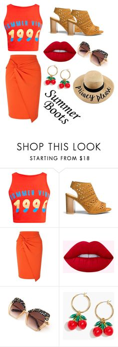 """""""Summer Vibes '96"""" by uniquepineapple ❤ liked on Polyvore featuring Miss Selfridge and J.Crew"""