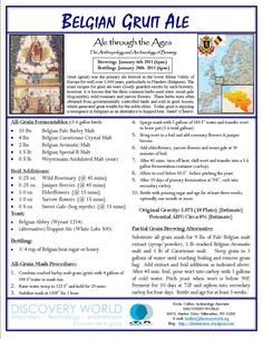 Gruit Ale Recipe_AleThroughTheAges