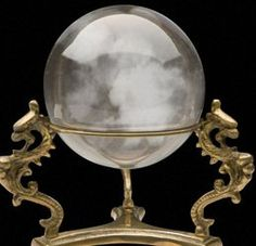 Who uses they're crystal ball still as a form of divination? Need to get mine out and start using it again :)