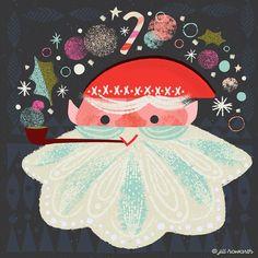 Santa advent / Jill Howarth