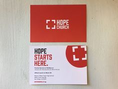 Hope Church Postcards