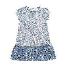 Kite jurk madeliefjes blauw/wit #biologische #eerlijke #kinderkleding verkrijgbaar op www.ekodepeko.nl