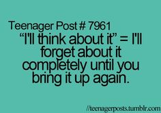 Teenager Post #7961
