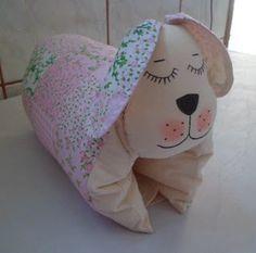 Graça Patchwork: Travesseiro para bebê