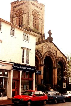Christ Church on the High Street in the 1980s.