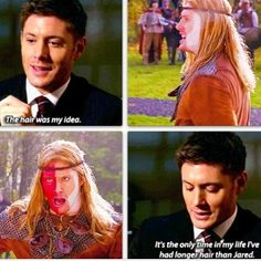 LARP And The Real Girl. I think dean was the REAL girl....
