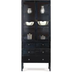 Boltz | Large Steel Double Cabinet with Drawers