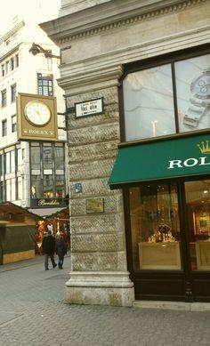 Rolex, Vaci utca, Budapest