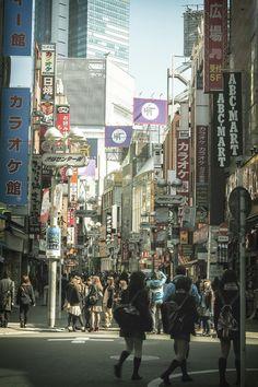 """hiroshiokuda:  Shibuya byHiroshi Okuda"