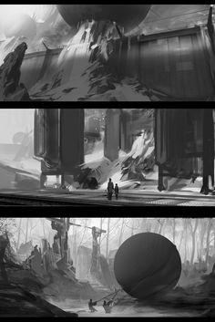 ArtStation - thumbnails, Alexander Nemov