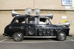Sound-taxi in London