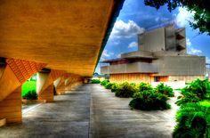 Frank Lloyd Wright at Florida Southern College, Lakeland Fl