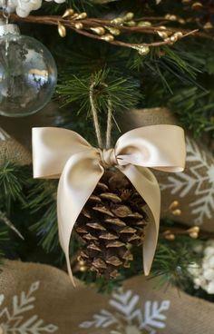 Decorazioni fai da te per l'albero di Natale (Foto)   Pourfemme