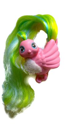 OMG... I remember having one when I was 5ish and treated it like gold! I kept it in my Barbie's hair :)