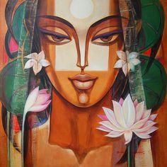 Ahobhilam Prabhaker Painting - SuchitrraArts.com