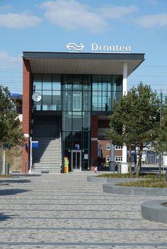 NS Station Dronten, Flevoland.
