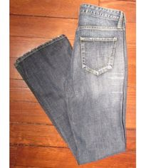 """Paper Denim & Cloth Bootcut Jeans In good condition. 100% cotton. 2-TRU-14 Filter. 15"""" across waist, 8.75"""" rise, 33"""" inseam. Price is firm. No trades or holds Paper Denim & Cloth Jeans Boot Cut"""