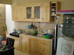 kitchen set jati belanda minimalis - Google Search