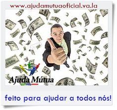 PRECISA DE DINHEIRO? ENTÃO FAÇA UMA BOA AÇÃO! O Sistema Ajuda Mútua Oficial, é um Sistema completamente lícito, pois existe lei que ampara a doação no Brasil. Para participar, Vc pagará (doará) para apenas 5 pessoas, diretamente em suas respectivas contas bancárias e não para empresas. Por ter um limite de ganhos no derramamento e ser um sistema 100% legal, não é pirâmide financeira! acesse agora:  http://www.ajudamutua.com.br/?ref=Rudson01  Venha somar conosco!