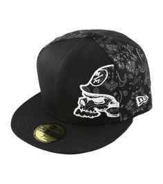f5d5973b58e Metal Mulisha Crucial Hat Men s Baseball Cap Black 59Fifty Fitted Skull Logo