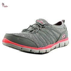 Baskets Skechers Gratis Shake It Off pour femme en gris - Chaussures skechers (*Partner-Link)