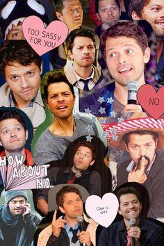 misha collins tumblr collage - Google Search
