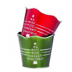 Evergreen Enterprises, Inc Metal Pot Planter