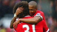 Great combination for United's second goal. 12.4.2015