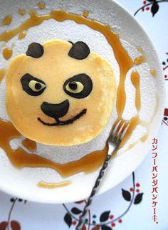 Kung Fu Panda pancake