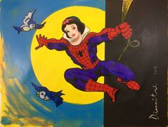 Online veilinghuis Catawiki: Dimitri Spijk - Spider-Man with the wrong mask