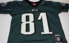 Philadelphia Eagles Terrell Owens Youth Size Small Reebok Jersey #Reebok #PhiladelphiaEagles