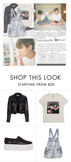 """""""For You--- BTS"""" by alicejean123 ❤ liked on Polyvore featuring Yves Saint Laurent, ASOS, women's clothing, women, female, woman, misses and juniors"""