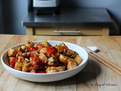 Tefal ActiFry Recipe – Sweet and Sour Chicken. Cooking time under 30 minutes. Tefal ActiFry Recipe – Sweet and Sour Chicken. Cooking time under 30 minutes. Tefal Actifry, Roasted Banana, Actifry Recipes, Gourmet Recipes, Healthy Recipes, Sweet N Sour Chicken, Air Fryer Recipes, The Fresh, Cooking Time