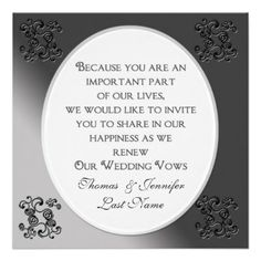 Vows Sample on Sample Renewal Of Vows Ceremonies The Marriage Man Vow Renewal Ceremony, Renewal Wedding, Wedding Vows, Wedding Cards, Our Wedding, Renewal Of Vows Ideas, Wedding Stuff, Wedding Ideas, Lace Wedding