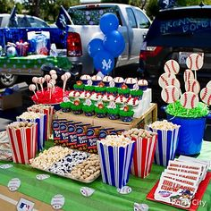 Tailgate Party Decorations | Kids Baseball Party Ideas Gallery - Party City