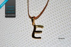 Necklace Μonogram E Name Sterling Silver 925 Gold-plated Handmade Jewelry Best Idea Personalised Gift Unisex Women Baby Girl Boy Kids Men Jewelry Shop, Jewelry Art, Handmade Jewelry, Gold Plated Necklace, Kids Boys, Personalized Gifts, Arrow Necklace, Plating, Monogram