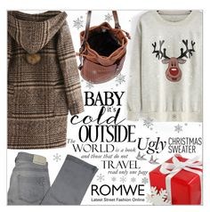 """""""Romwe 1."""" by selmagorath ❤ liked on Polyvore featuring Comptoir Des Cotonniers, women's clothing, women, female, woman, misses and juniors"""