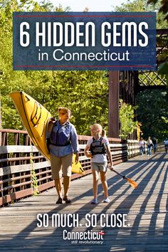 """Most people know Connecticut's most visited landmarks and attractions — so, we asked our fans to suggest a few of the state's """"hidden gems."""" Here's a great list of places where you might just find a few surprises worth discovering for yourself. Vacation Places, Vacation Trips, Day Trips, Places To Travel, Travel Destinations, Vacations, Connecticut, East Coast Road Trip, Beach Trip"""