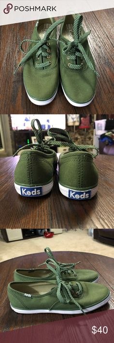 NWOB Keds Olive Green Shoes Size 5 Women NWOB Keds Olive Green Shoes Size 5 Women Keds Shoes Sneakers