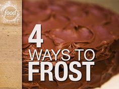 4 Ways to Frost: Learn how to make grass out of frosting and more Easter-ready tips from Food Network Kitchen.