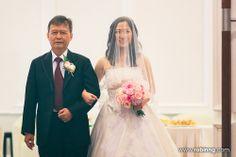 here come the bride